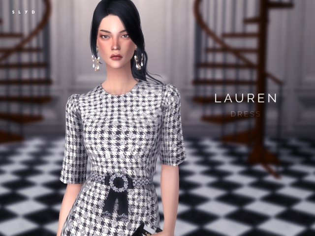 Dolce & Gabbana F/W 16 Houndstooth Check Dress by Starlord