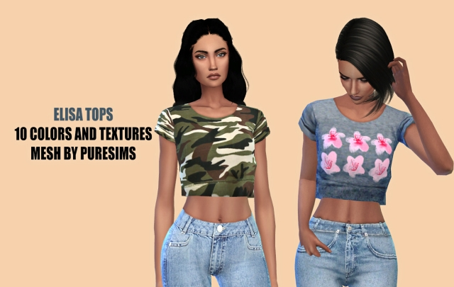 ELISA TOPS by Hallow Sims