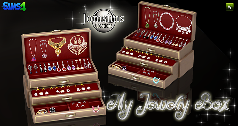 Jewelry Box and Jewelry Clutter by JomSims