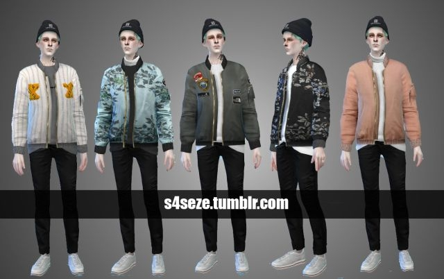 Bomber Jackets for Males by Seze
