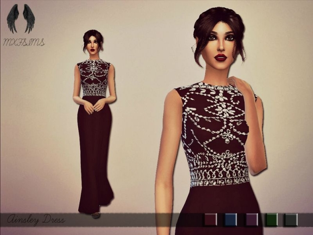 Ainsley Dress by mxfsims
