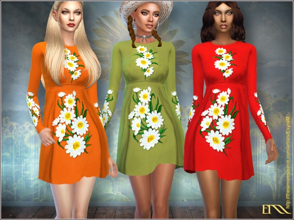 Sunflower dress by EsyraM