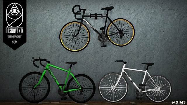 Dosnoventa Bicycles Pack by MXIMS