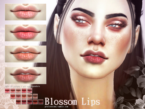 Blossom Lips N67 by Pralinesims