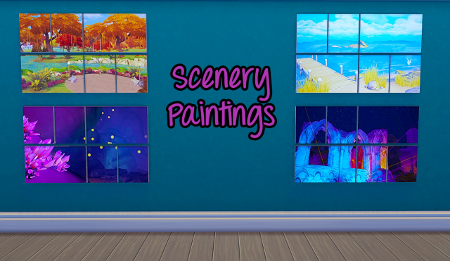 Scenery Paintings by coliswonderland