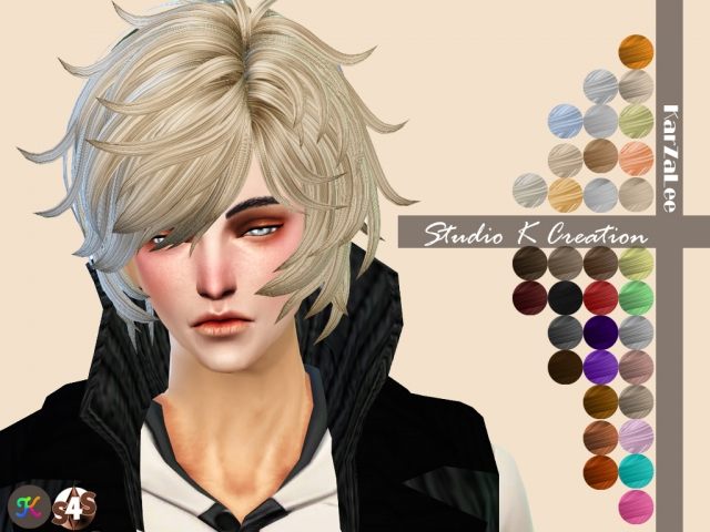 Animate hair 42 - REIJI by Karzalee