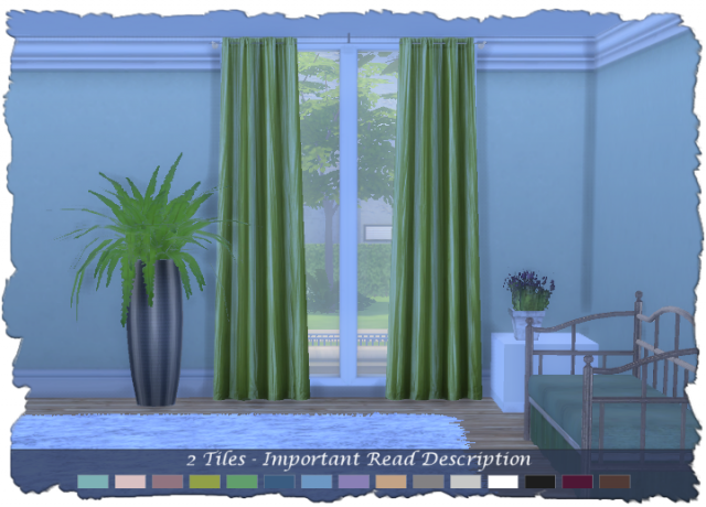 N2 SET: PARIS CURTAINS 2-TILE by Devilicious