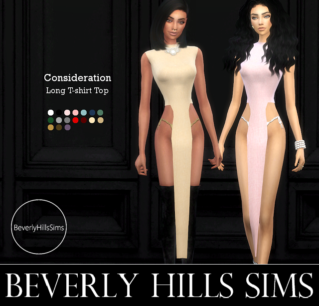 Consideration Top by BeverlyHillsSims