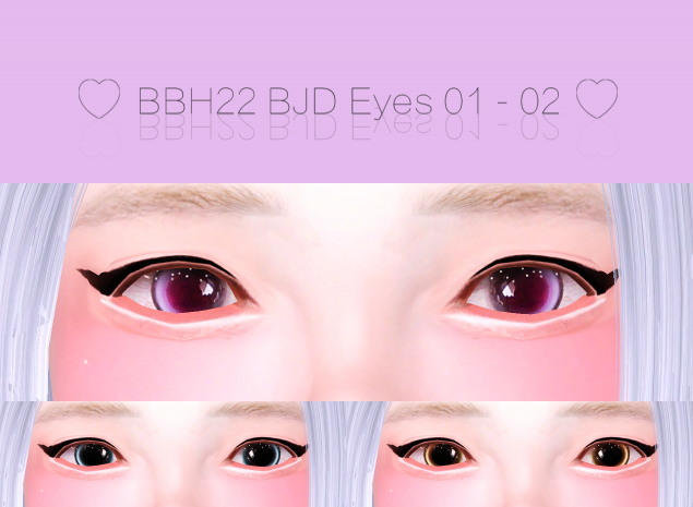BJD Eyes 01~02 by bbh22