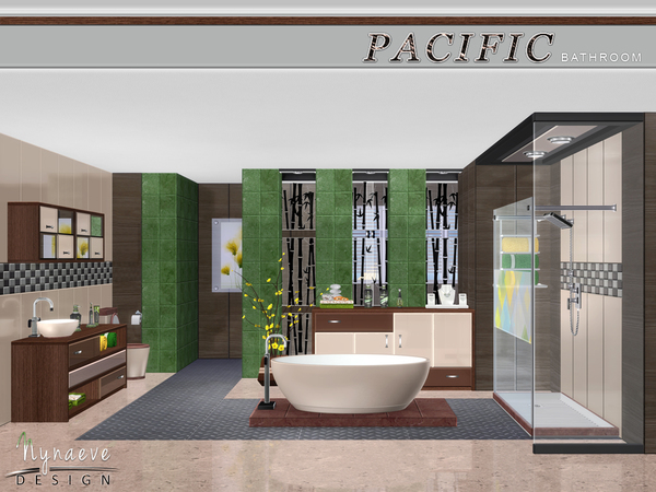Pacific Heights Bathroom by NynaeveDesign
