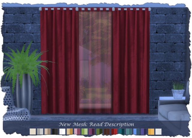 Devi Curtains Set by Devilicious