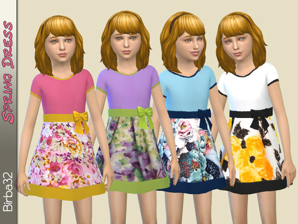Spring Girl Dress by Birba32