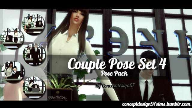 Couple Pose Set 4 by ConceptDesign97