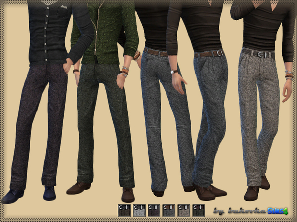 English Tweed Pants by bukovka