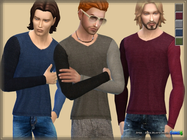 Sweater Various Sleeve by bukovka