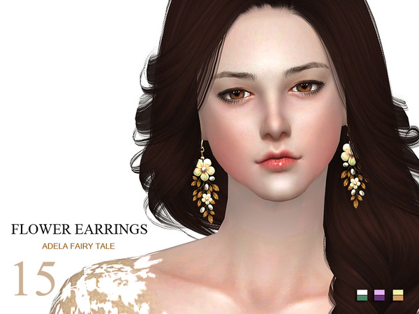 LL ts4 earring 15(f) by S-Club
