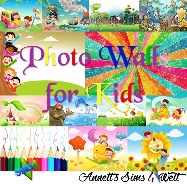 Photo Walls for Kids by Annett85