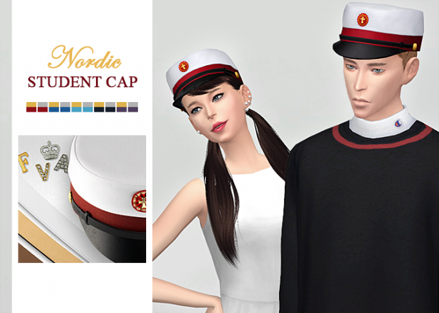 Nordic Student Cap for Males and Females by Waekey