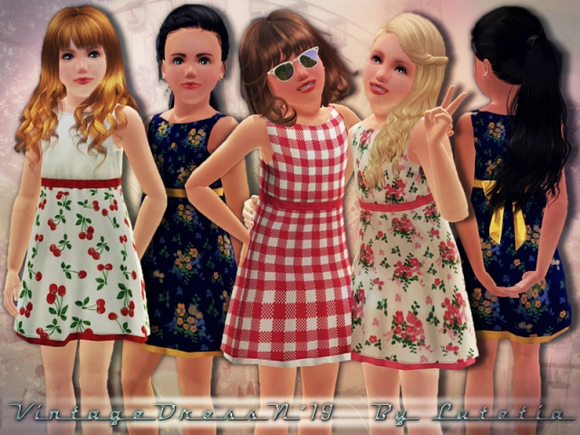 intage Dress No 19 by ~Lutetia~