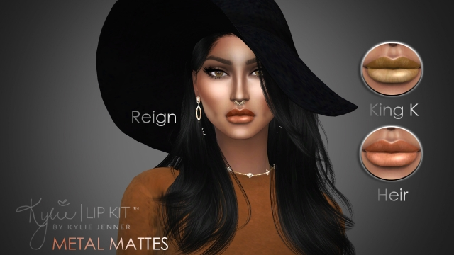 Metal Mattes in Reign, King K, & Heir by maccosimetics