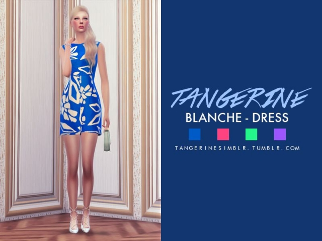 Blanche - Dress by tangerinesimbl