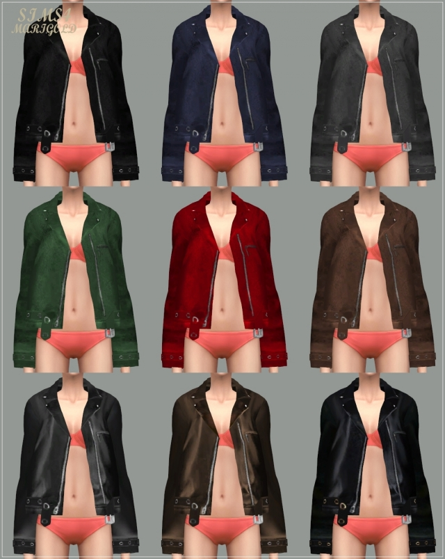 ACC_Leather Jacket by marigold