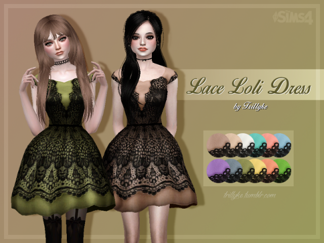Lace Loli Dress by Trillyke