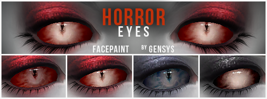 Horror Eyes by gen-sim