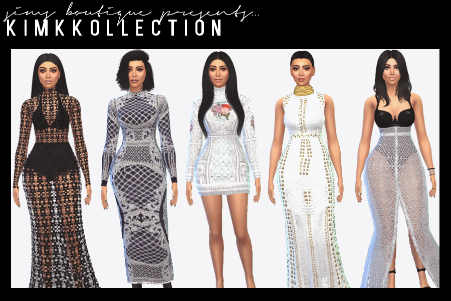 Kim Kardashian Kollection (Part One) by SimsBoutique