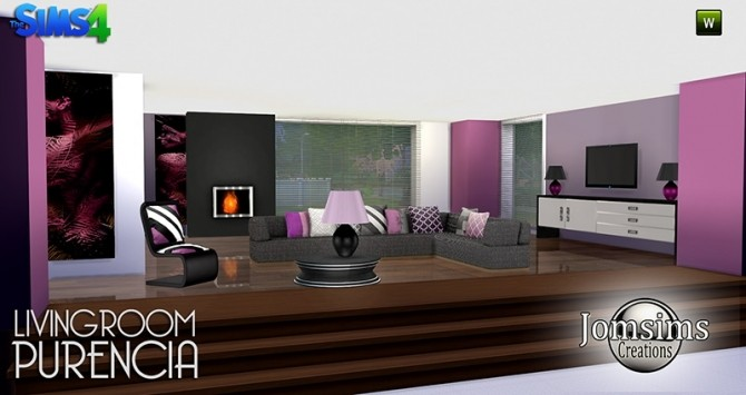 PURENCIA LIVINGROOM AT JOMSIMS