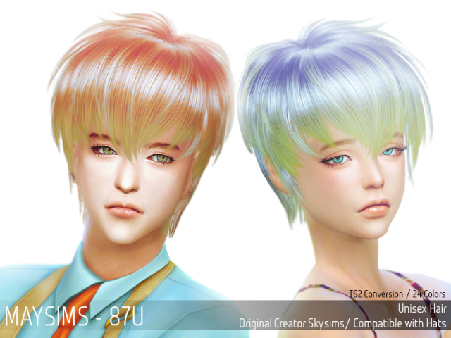 Hair 87U by MaySims
