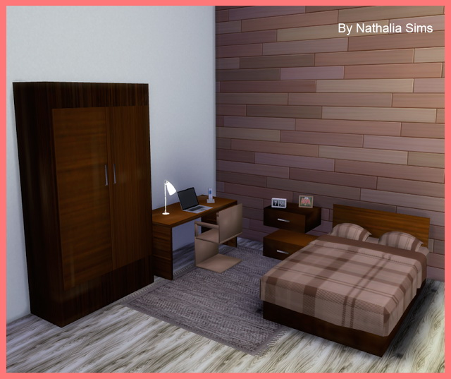 THE FIRST BEDROOM AT NATHALIA SIMS