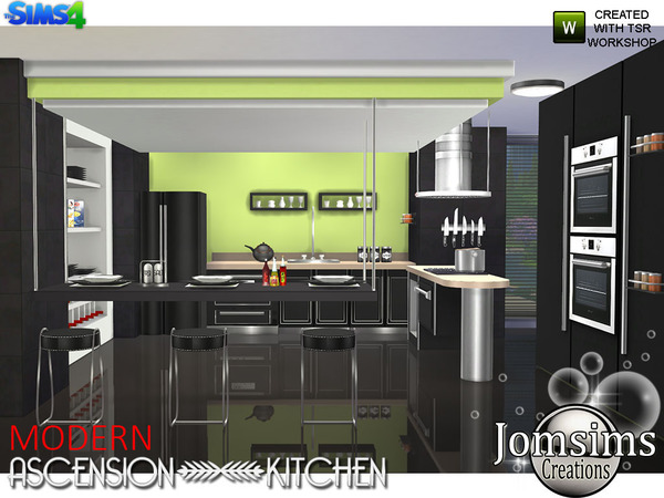 Modern Ascension Kitchen by jomsims