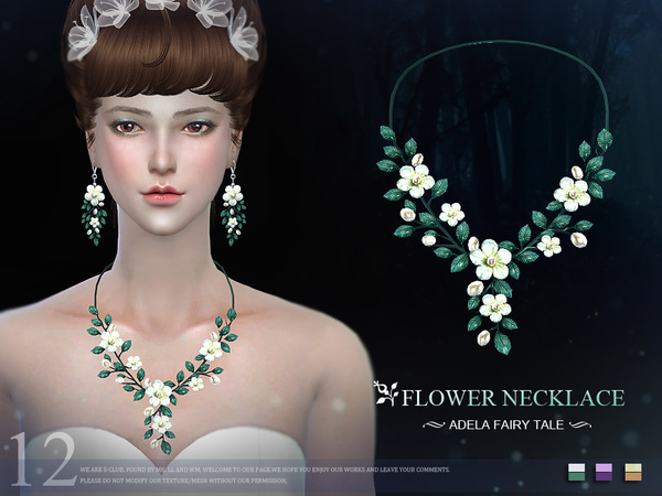 S-Club LL ts4 necklace N12