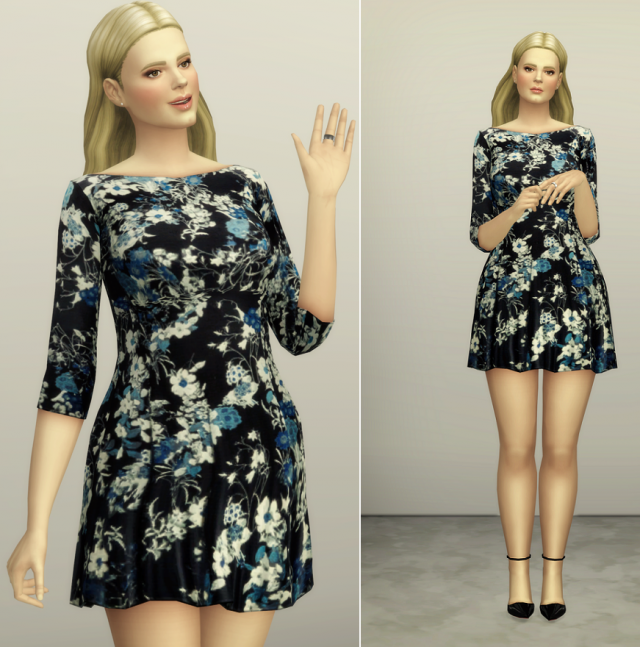 S4 Floral Dress by Erdem (2 color) by Rusty Nail