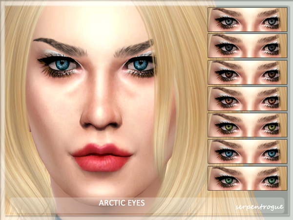 Arctic Eyes by Serpentrogue