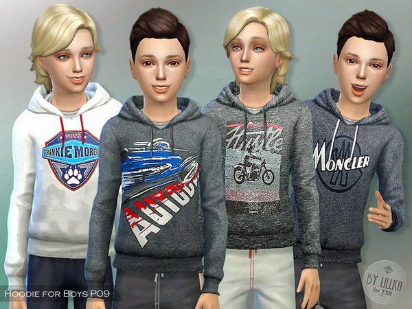 Hoodie for Boys P09 by lillka