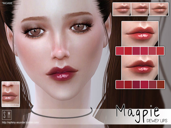 [ Magpie ] - Dewey Lips by Screaming Mustard