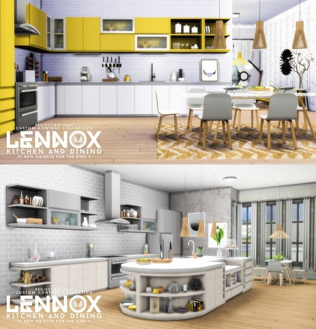Lennox Kitchen And Dining Set  (41 объектов) by Peacemaker IC