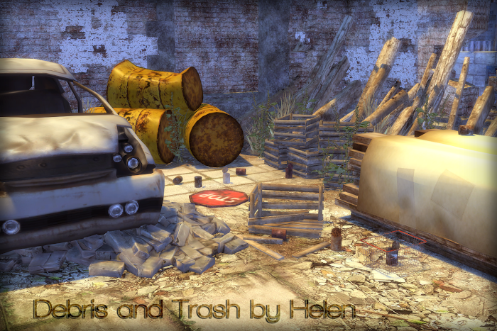 Debris and Trash by Helen
