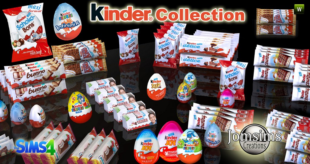 Kinder Collection.  by jomsimscreations