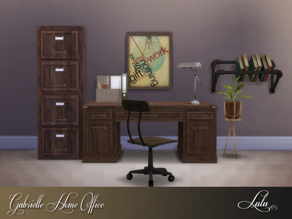 Gabrielle Office by Lulu265