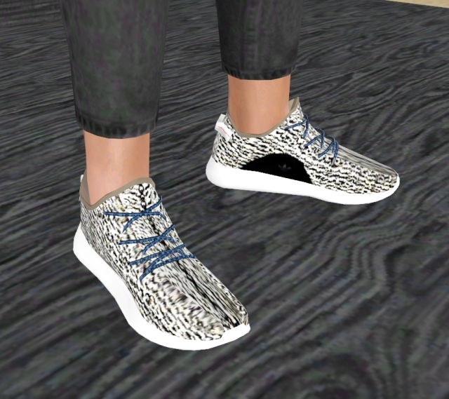 Male Yeezy Sneakers Ts4 To Ts3 Conversion By VenusPrincess