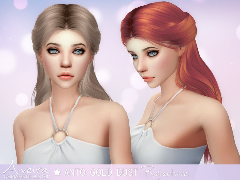 Anto Gold Dust Retexture in 70 Colors by AveiraSims