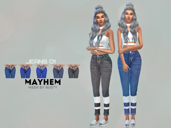 Mayhem Jeans 01 by NataliMayhem