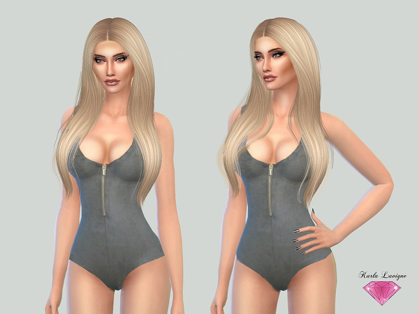 Simple Bodysuit by Karla Lavigne