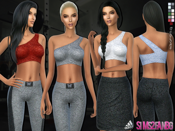 164 - Athletic top by sims2fanbg