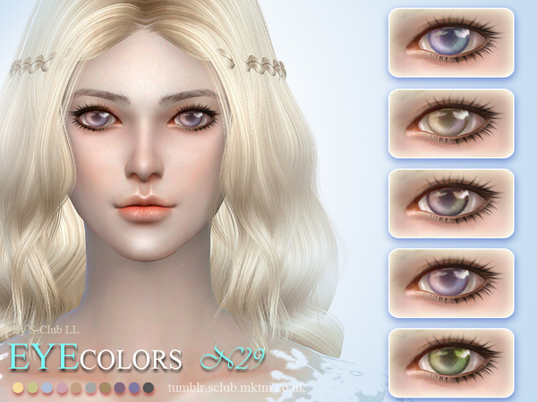 S-Club LL thesims4 Eyecolor 29