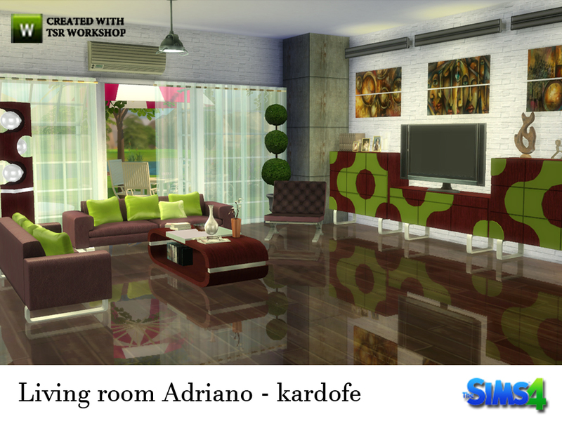 kardofe_Living room Adriano  BY kardofe