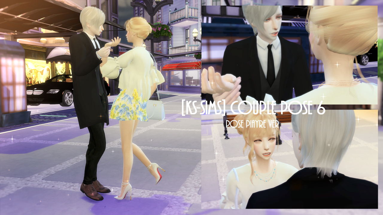 [KS-Sims]  Couple pose 6 by Karzalee